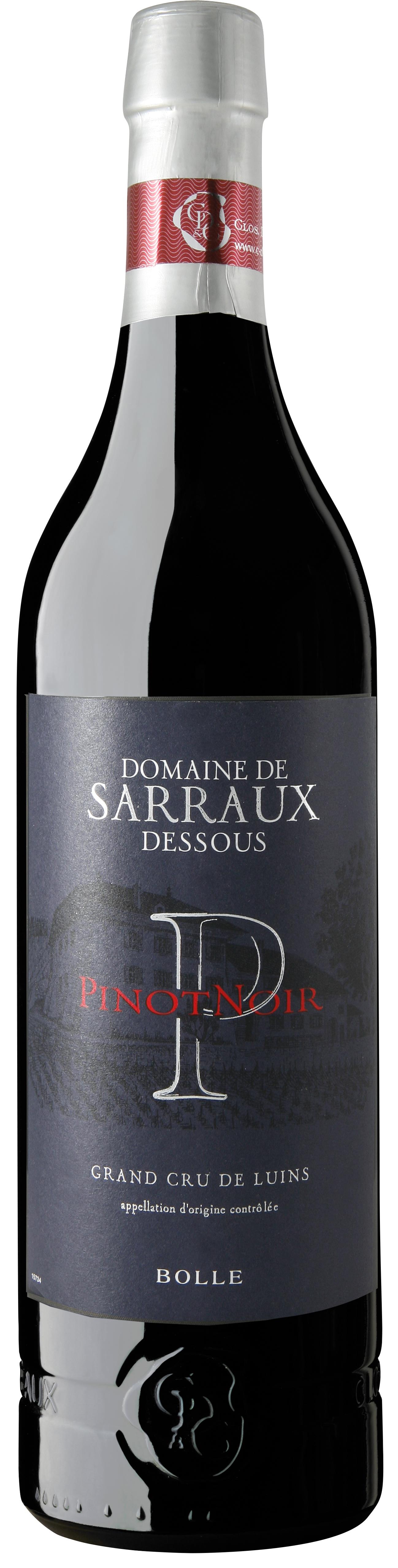Domaine de Sarraux-Dessous Pinot Noir 2015