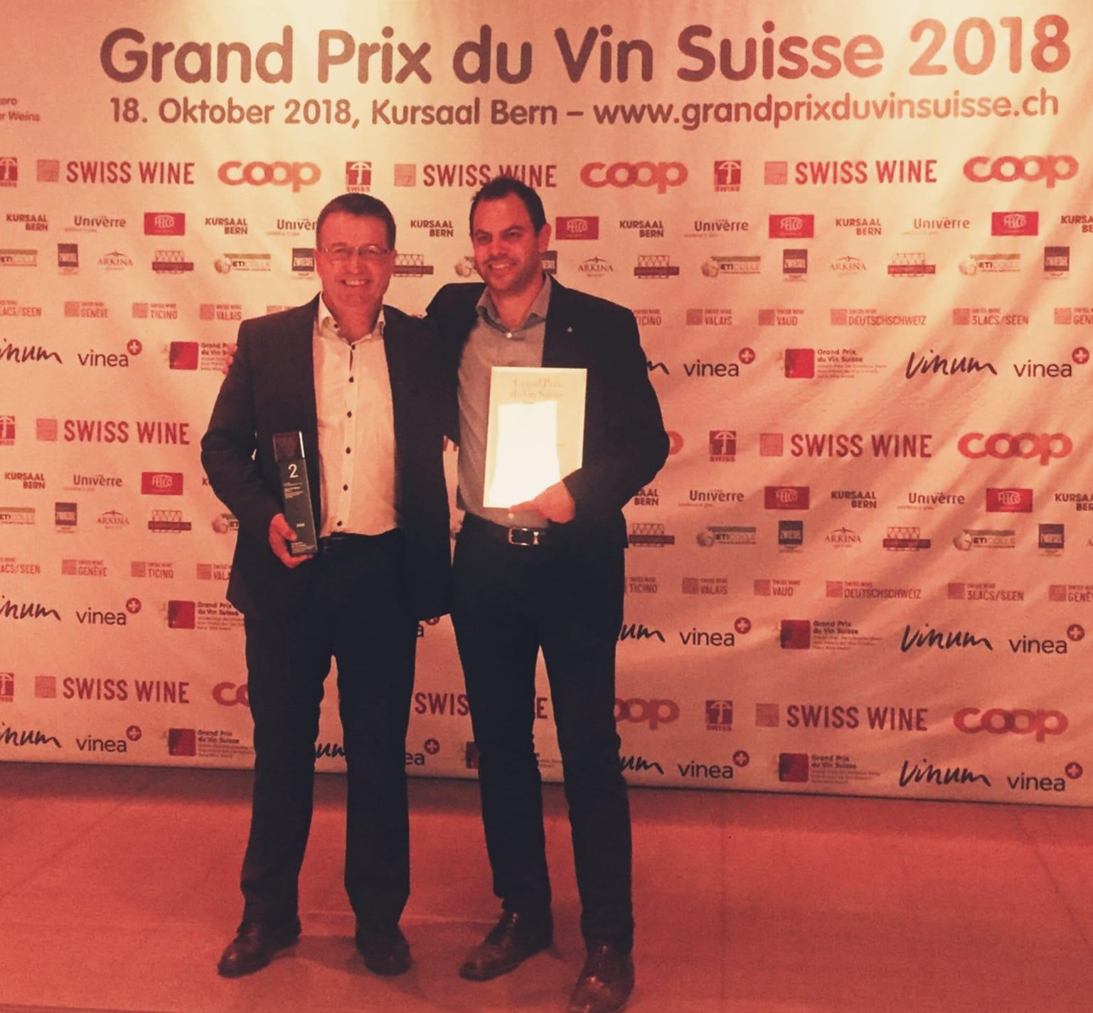 Thierry Ciampi et Emmanuel Carron
