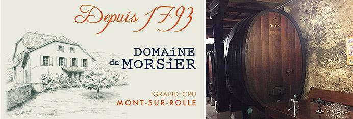 Domaine de Morsier Grand Cru Mont-sur-Rolle La Côte AOC